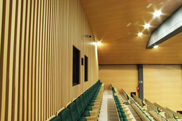 timber wall absorption